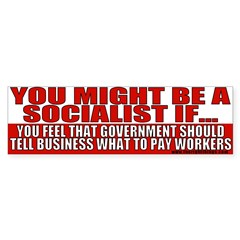 Anti Liberal Socialist Bumper Sticker