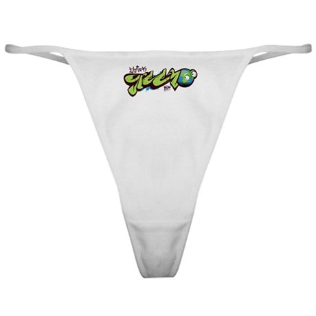 Think Green - Graffity Classic Thong
