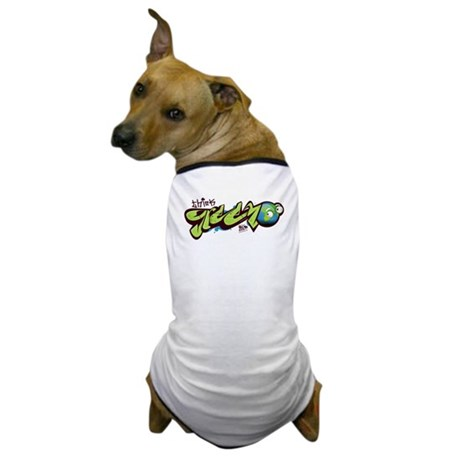 Think Green - Graffity Dog T-Shirt