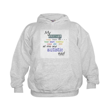 My Brother is . . . Kids Hoodie