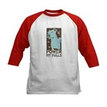 Pit Power Kids Baseball Jersey