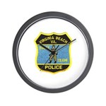 VA Beach PD SWAT Wall Clock