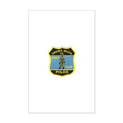 VA Beach PD SWAT Mini Poster Print