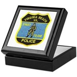 VA Beach PD SWAT Keepsake Box
