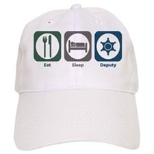 Eat Sleep Deputy Baseball Cap