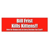 Bill Frist Kills Kittens!!