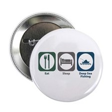 "Eat Sleep Deep Sea Fishing 2.25"" Button"