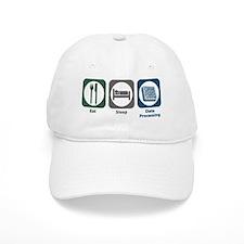 Eat Sleep Data Processing Baseball Cap