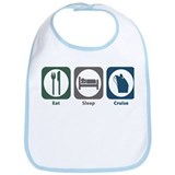 Eat Sleep Cruise Bib