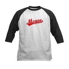 Retro Mcgee (Red) Tee