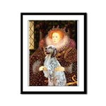 Queen / English Setter Framed Panel Print