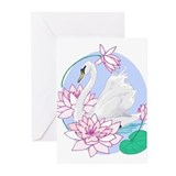 Rangoli Swanlake Greeting Cards (Pk of 10)