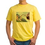 Creation / Catahoula Leopard Yellow T-Shirt