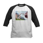 Creation / Catahoula Leopard Kids Baseball Jersey