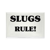 Slugs Rule Rectangle Magnet (10 pack)