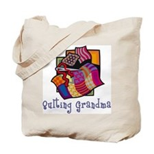 Quilting Grandmother Tote Bag