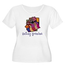 Quilting Grandmother T-Shirt