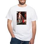 Accolade / Catahoula Leopard White T-Shirt