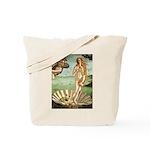 Venus / Cairn Terrier Tote Bag