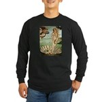Venus / Cairn Terrier Long Sleeve Dark T-Shirt