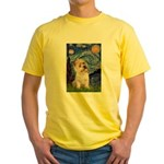 Starry Night / Cairn Terrier Yellow T-Shirt