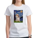 Starry Night / Cairn Terrier Women's T-Shirt