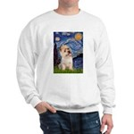 Starry Night / Cairn Terrier Sweatshirt