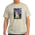 Starry Night / Cairn Terrier Light T-Shirt
