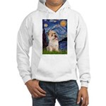 Starry Night / Cairn Terrier Hooded Sweatshirt