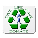 Give Life Mousepad