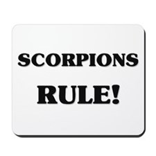 Scorpions Rule Mousepad
