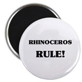 Rhinoceros Rule Magnet