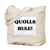 Quolls Rule Tote Bag