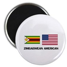Cute Zimbabwe language Magnet