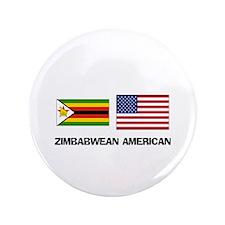 """Cute Zimbabwe language 3.5"""" Button"""