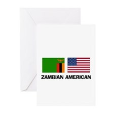 Zambian American Greeting Cards (Pk of 10)