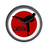 Caiden Karate Wall Clock