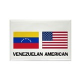 Venezuelan American Rectangle Magnet (10 pack)
