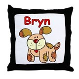 Bryn Puppy Throw Pillow