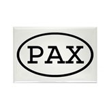 PAX Oval Rectangle Magnet