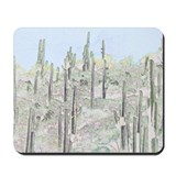 Many Saguaros  Mousepad