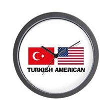 Turkish American Wall Clock