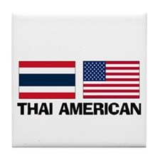 Thai American Tile Coaster