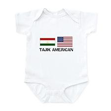 Tajik American Infant Bodysuit