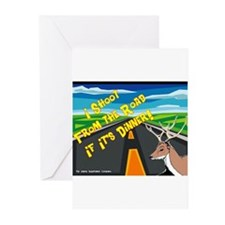 I Shoot From The Road Greeting Cards (Pk of 10