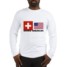 Swiss American Long Sleeve T-Shirt
