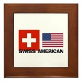 Swiss American Framed Tile