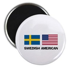 "Swedish American 2.25"" Magnet (10 pack)"