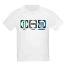 Eat Sleep Computers T-Shirt