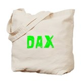 Dax Faded (Green) Tote Bag